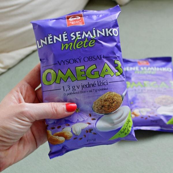 Mleté lněné semínko Semix- Zdravý život