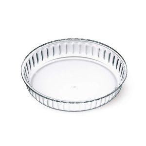Skleněná forma na koláč průměr 28 cm