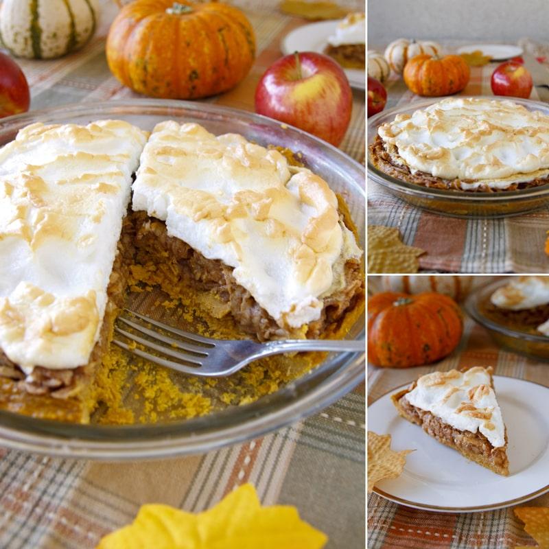 Fit dýňový jablečný koláč - recept Bajola