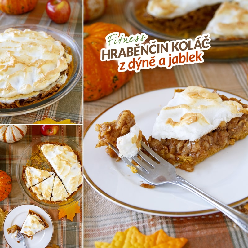 Fitness hraběnčin koláč z dýně a jablek - recept Bajola