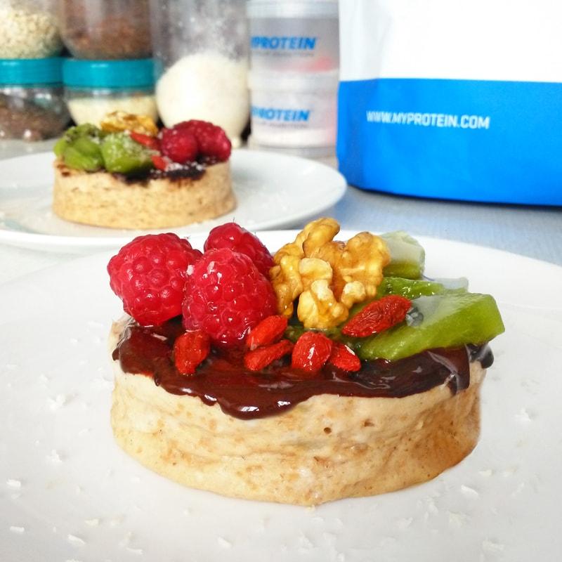 Fitness jogurtový minidortík zdravý recept Bajola