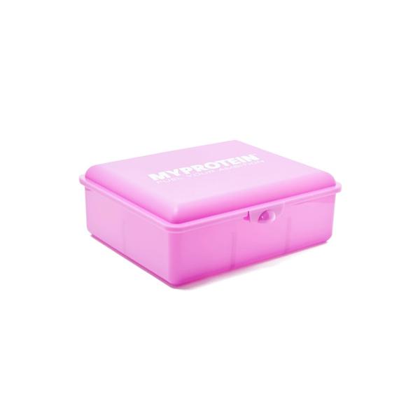 Krabička na jídlo MyProtein růžová malá