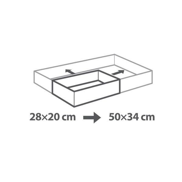 Nastavitelná forma na dort obdélníková