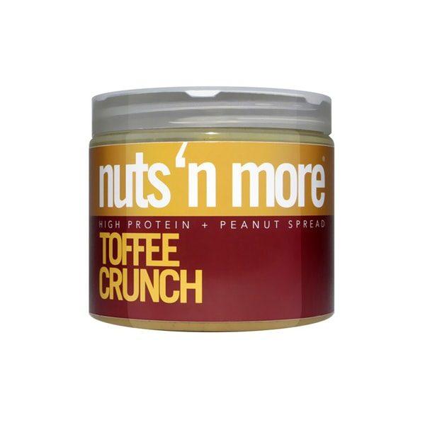Arašídové proteinové máslo Nuts´N More Toffee Crunch