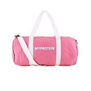 Růžová sportovní taška MyProtein