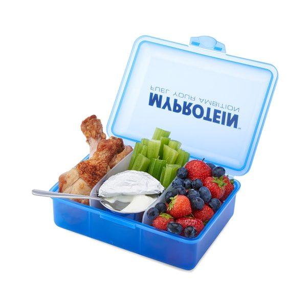 Svačinová krabička MyProtein modrá
