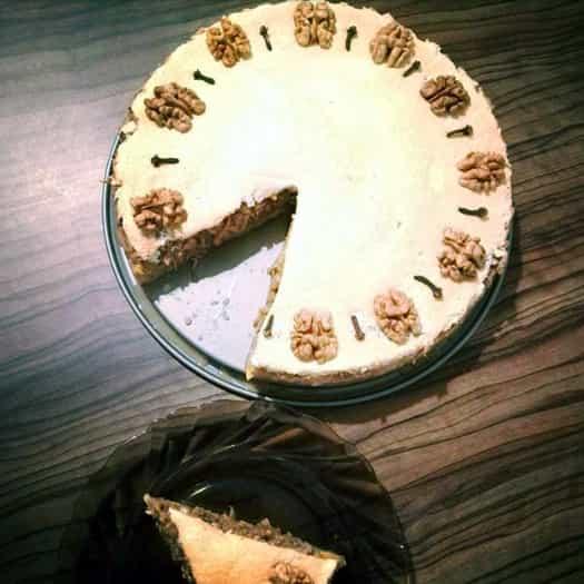 Fitness hraběnčin koláč