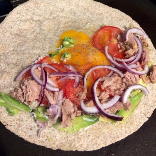 Fitness quesadilla