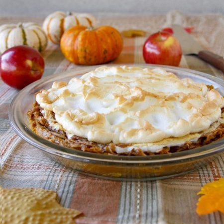 Zdravý hraběnčin koláč dýně jablka - recept Bajola
