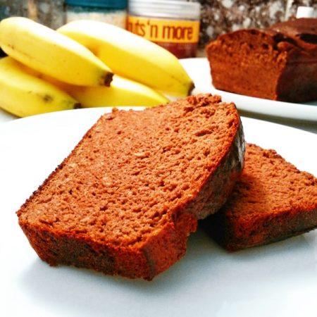 Čokoládový banánový chléb fitness recept Bajola