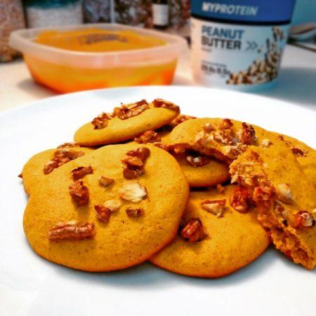 Fitness dýňové cookies - zdravý recept Bajola