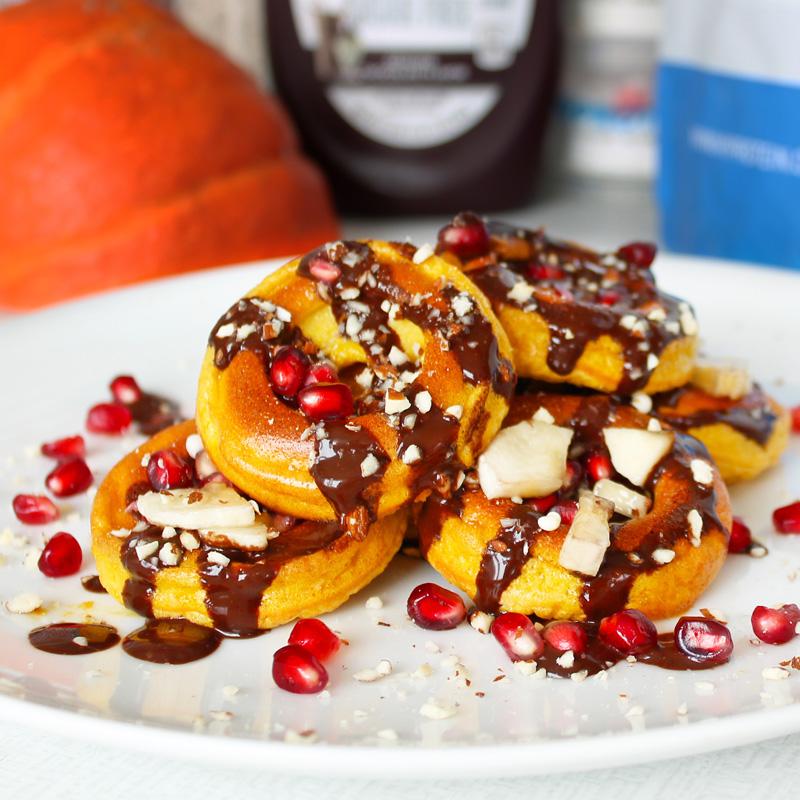 Fitness dýňové mini donuty - dietná recept Bajola