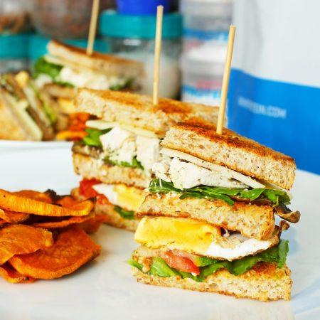 Fitness Club Sandwich podle Pohlreicha - recept Bajola
