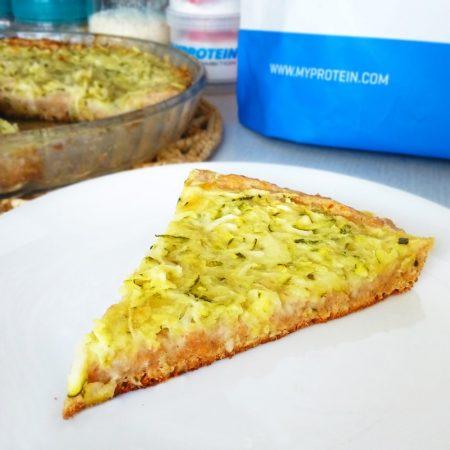 Fitness cuketový quiche - zdravý recept Bajola