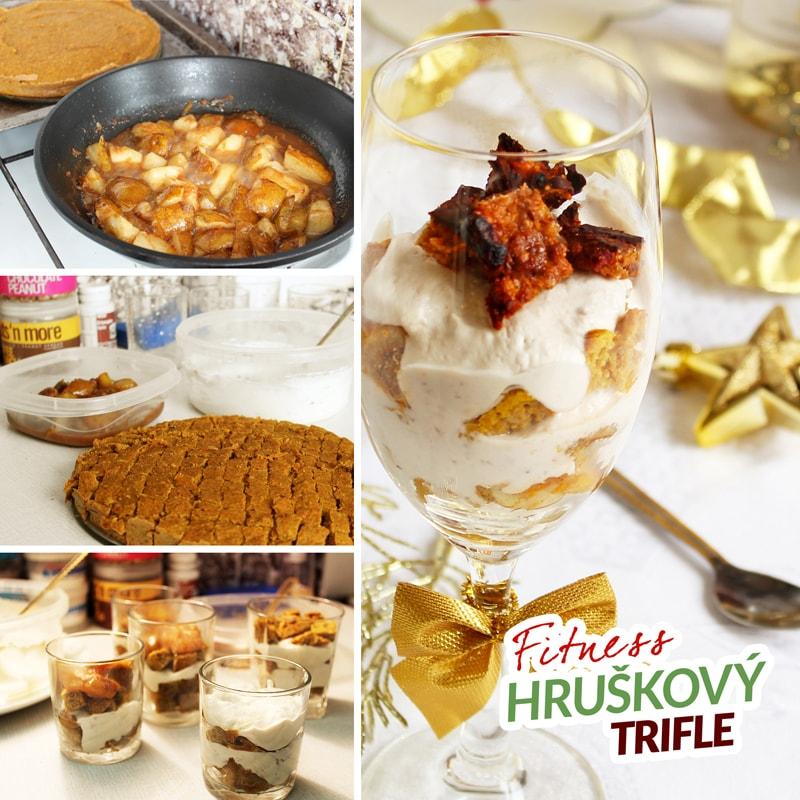 Fitness hruškový trifle - zdravý recept Bajola