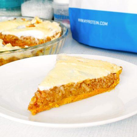 Fitness hraběnčin dýňovo jablečný koláč zdravý recept Bajola
