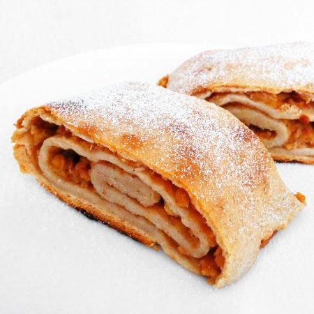Fitness jablečný závin zdravý recept Bajola