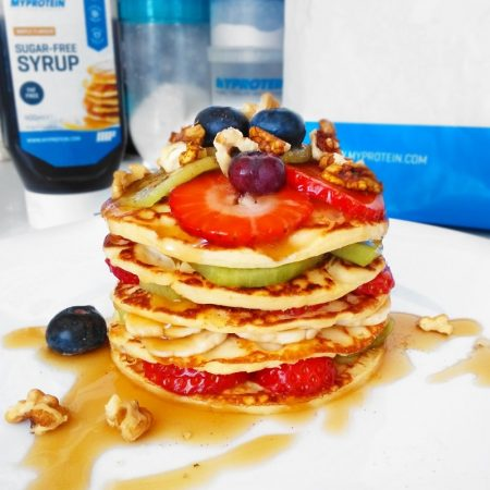 Fitness jogurtové lívance recept Bajola