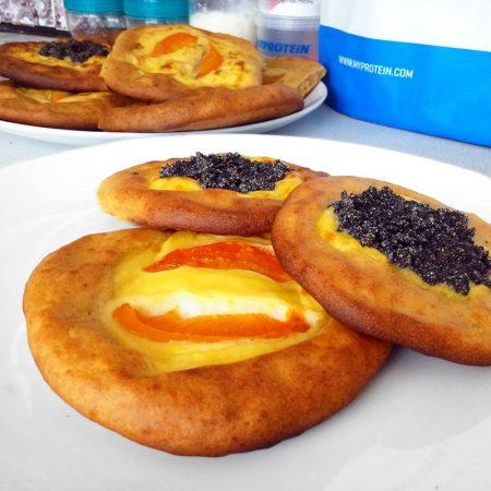 Fitness kefírové koláče bez kynutí zdravý recept Bajola