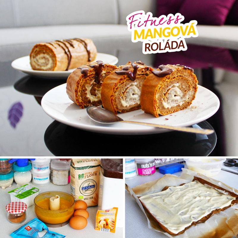 Fitness mangová roláda - recept Bajola