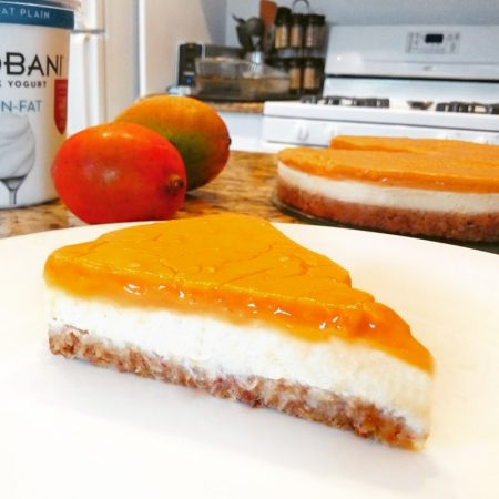 Fitness mangový cheesecake - recept Bajola