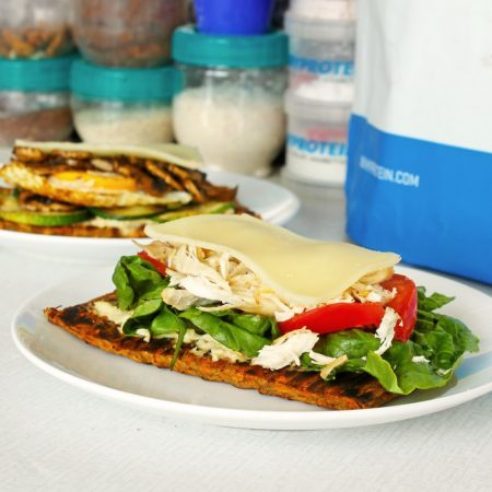 Fitness mrkvový flatbread - recept Bajola