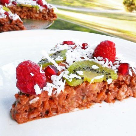 Fitness rýžový dort recept Bajola
