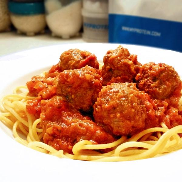 Fitness masové kuličky v rajčatové omáčce - recept Bajola