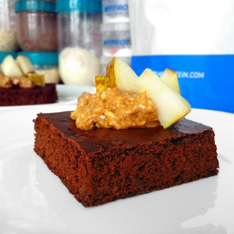 Redvelvet brownies z červené řepy - fitness recept Bajola