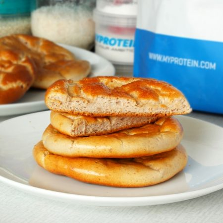 Sladký cloud bread - fitness pečivo recept Bajola