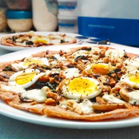 Tuňáková fitness pizza - zdravý recept Bajola
