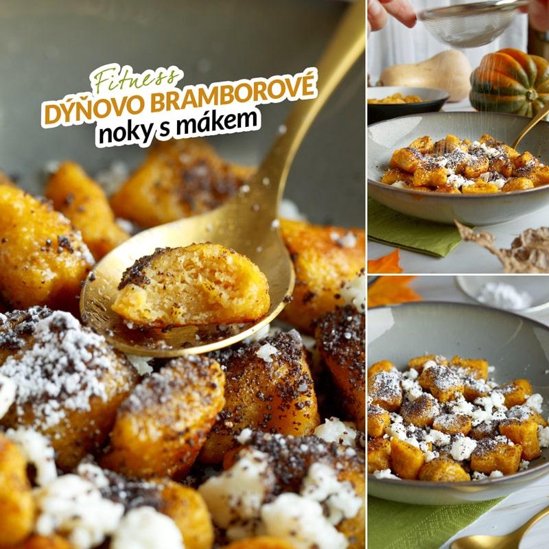 Zdravé dýňové bramborové noky s mákem - recept Bajola
