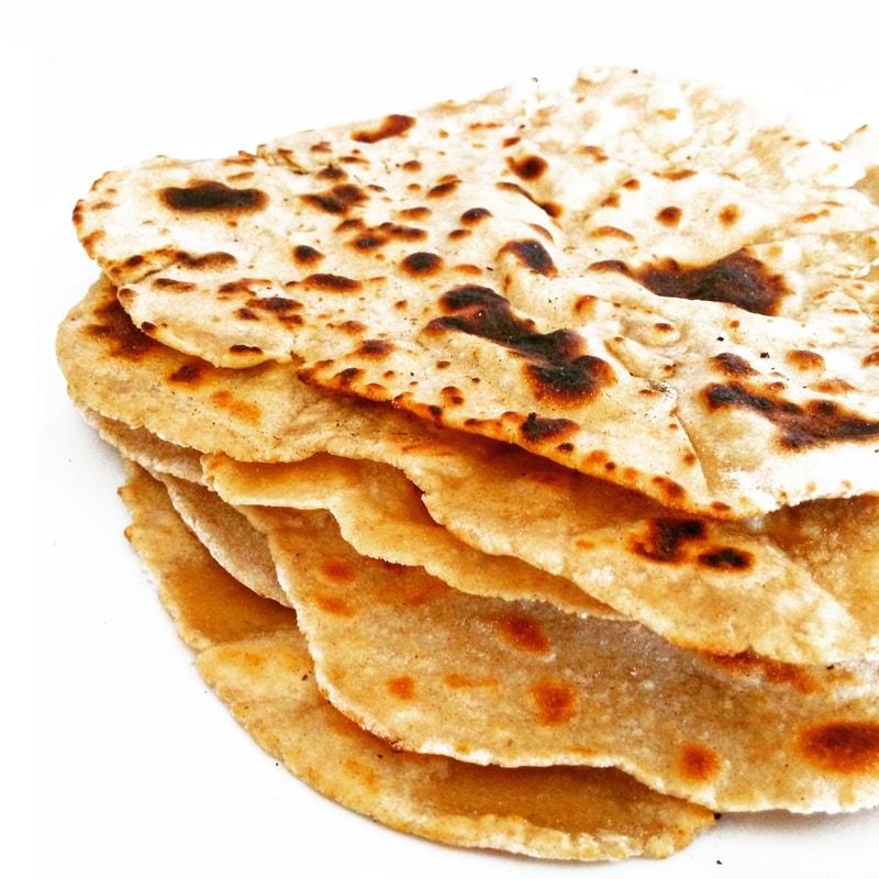 Fitness arabský chléb trochu jinak - zdravý recept Bajola