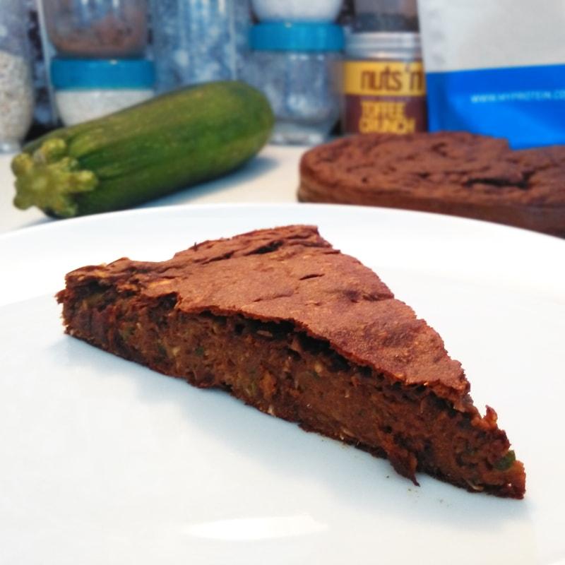 Fitness cuketové brownies - zdravý recept Bajola