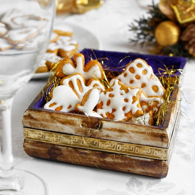 Fit dýňové perníčky - vánoční cukroví recept Bajola
