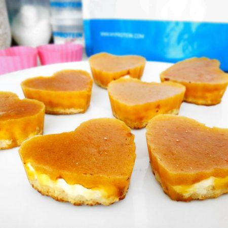 Fitness kaki cupcakes recept Bajola