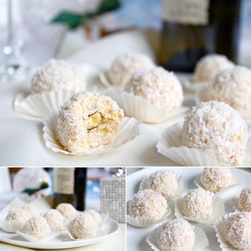 Fitness kokosové kuličky - vánoční zdravý recept Bajola