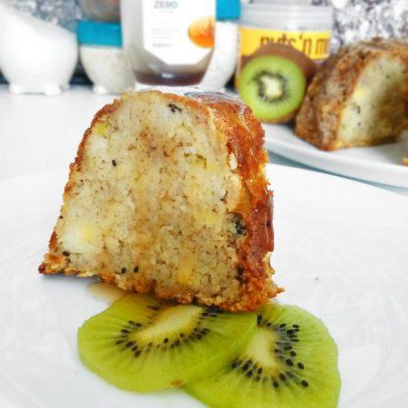 Fitness kuskusová kiwi bábovka - zdravý recept Bajola