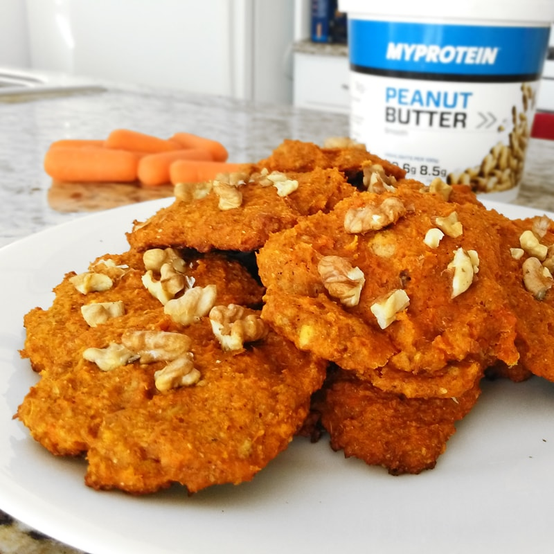 Fitness mrkvové cookies - zdravý recept Bajola