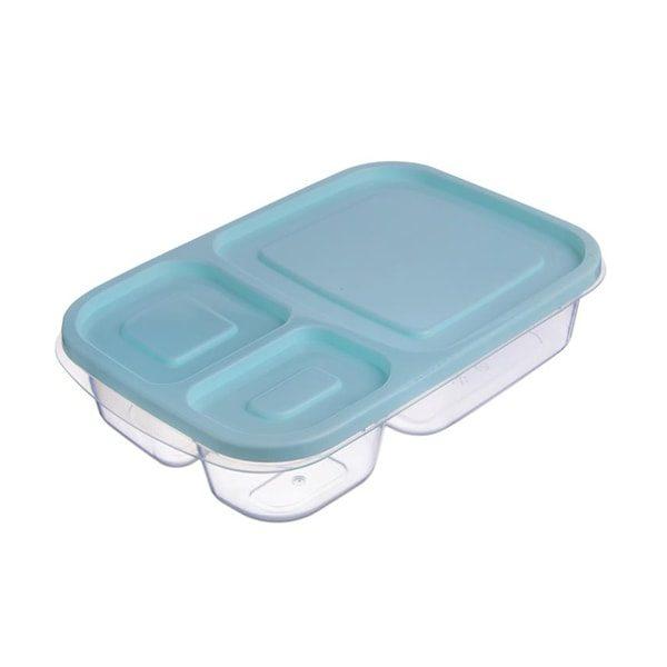 Fitness plastová miska s oddělenými přihrádkami