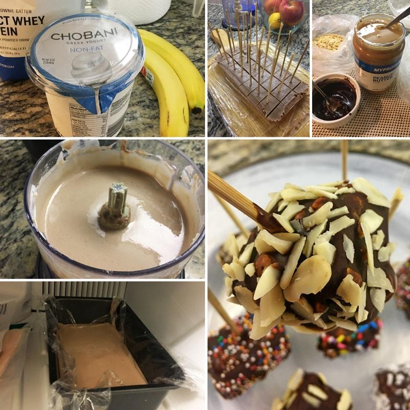 Fitness proteinová lízátka podle Paige Hathaway - zdravý recept Bajola