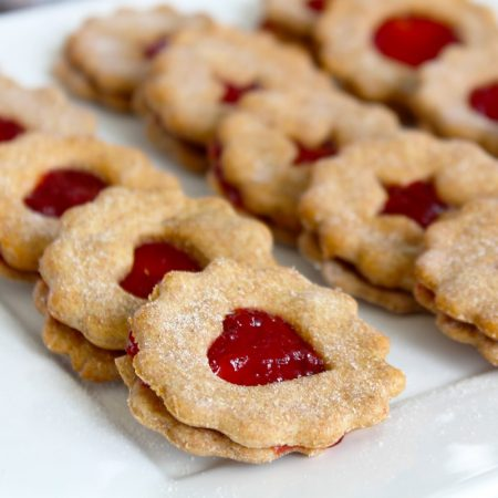 Fitness proteinové linecké - vánoční recept Bajola