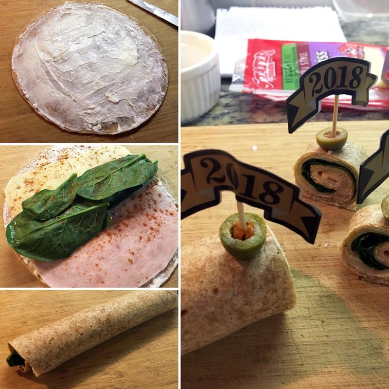 Fitness tortillové jednohubky - zdravý fit recept Bajola