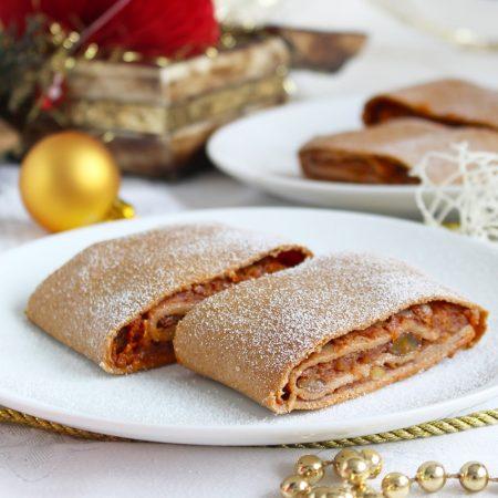 Fitness vánoční jablečná závin - recept Bajola