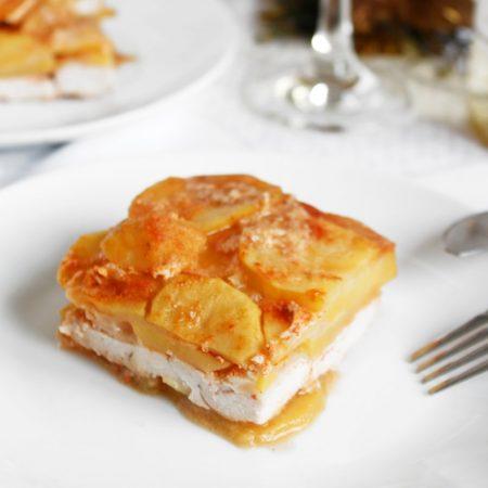 Fitness zapečené brambory s kuřecím masem - zdravý recept Bajola