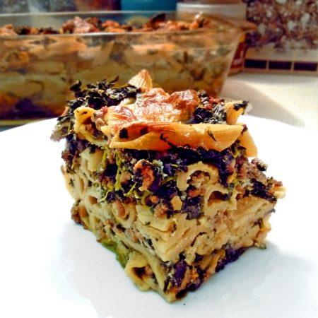 Fitness zapečené těstoviny - zdravý recept Bajola