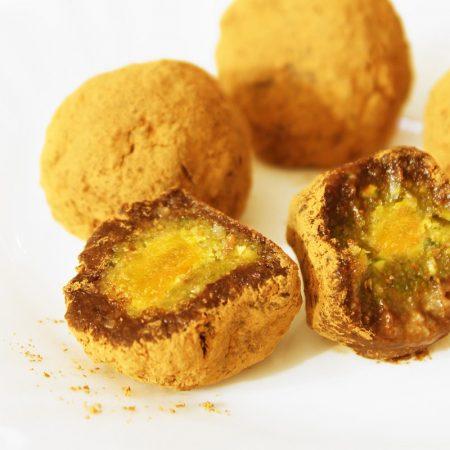 Fitness kakaové koule - slavnostní recept - cukroví Bajola