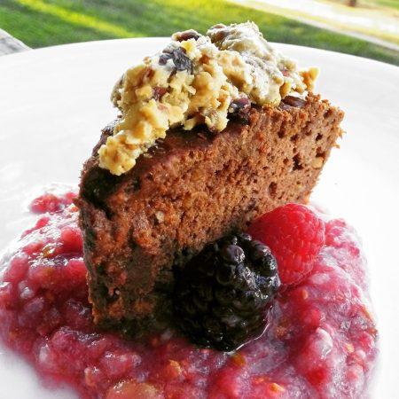 Fitness arašídové brownies - zdravý recept Bajola