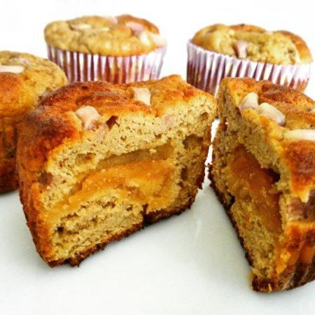 Fitness avokádové muffiny