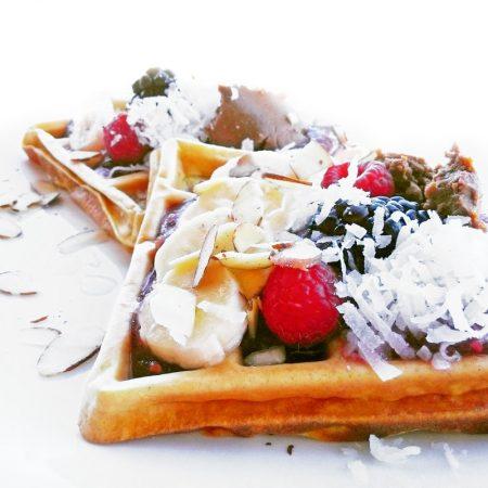Fitness batátové vafle - zdravý recept Bajola